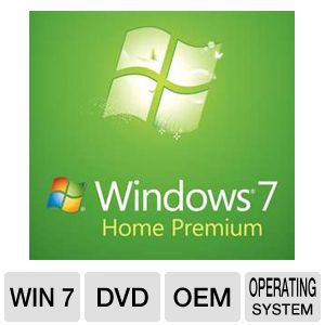 Microsoft Windows 7 Home Premium 32BIT - OEM DVD