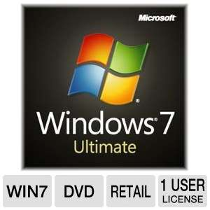 Microsoft Windows 7 Ultimate 64BIT - OEM DVD