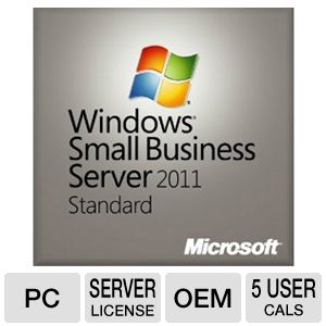 Microsoft Windows SBS Standard 2011 64Bit OEM