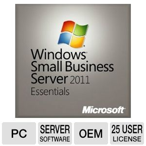 Microsoft Windows SBS 2011 Essentials Software