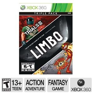 Microsoft Triple Video Game Pack for Xbox 360