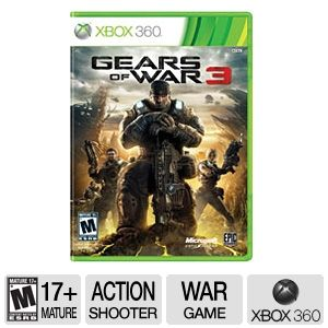 Microsoft Gears of War 3 Video Game for Xbox 360