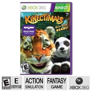 Microsoft Kinectimals with Bears Video Game