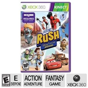 Microsoft 4WG-00031 Pixar Rush Kinect Video Game