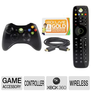 Microsoft Xbox 360 Essential Accessory Bundle