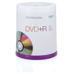 Memorex 05641 100 Pack 16X DVD-R Spindle