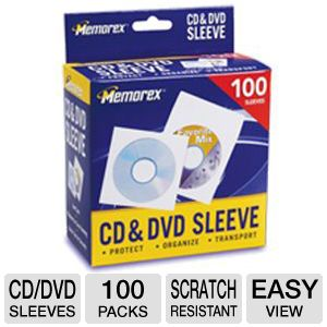 Memorex CD / DVD Sleeves