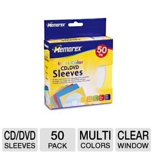 Memorex 32021965 CD,DVD, Blu-Ray Sleeves