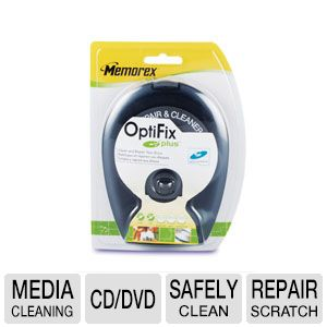 Memorex 32028004 CD/DVD Cleaning Device