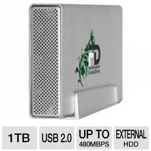 Fantom GreenDrive 1TB External Hard Drive