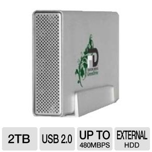Fantom GD2000EU GreenDrive External Hard Drive
