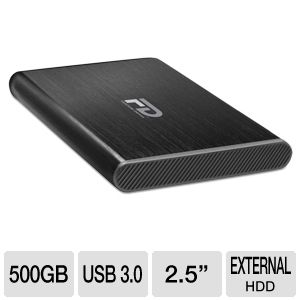 "Fantom Gforce3 Mini USB 3.0 Portable 2.5"" HDD"