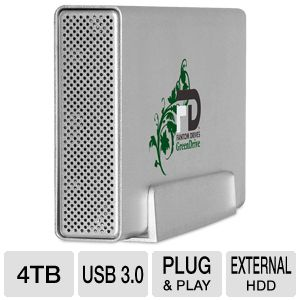 Fantom GreenDrive3 4TB External Drive