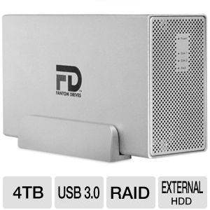Fantom Gforce3 MegaDisk 4TB USB 3.0 HDD