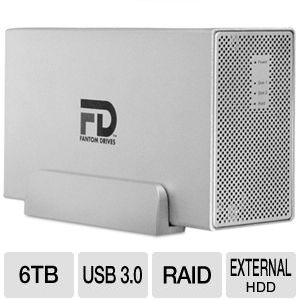 Fantom Drives Gforce3 MegaDisk USB 3.0 6TB HDD