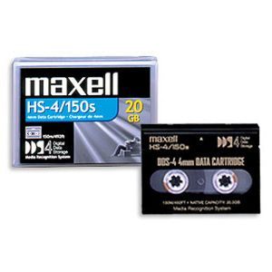 Maxell 4MM HS-4/150S Data Cartridge