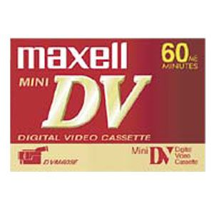 Maxell 60 Minute Mini DV Tape