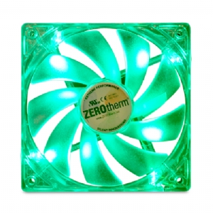 ZEROtherm ZT-120F LED GREEN Fluid Dynamic Bearing Fan