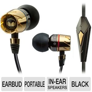 Monster Turbine Pro Gold Audiophile In Ear Speaker