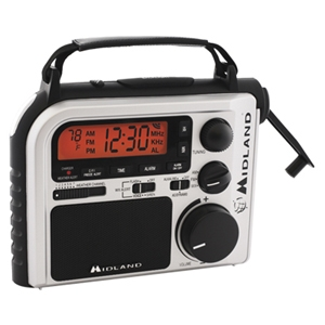 Midland ER102 Emergency Crank Weather Alert Radio