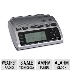 Midland WR300 Hazard Alert Weather Radio