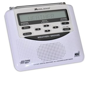 Midland WR120B All Hazard Alert Weather Radio
