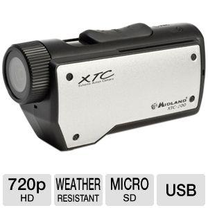 Midland XTC205VP2 HD Action Camcorder