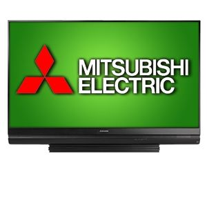Mitsubishi M402-7334 73 inch 1080p 120Hz 3D DLP HDTV with 4 HDMI, Video Noise Reduction, Advanced Video Calibration, (Open Box) 