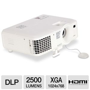 Mitsubishi EX240U Mobile XGA 3D DLP Projector