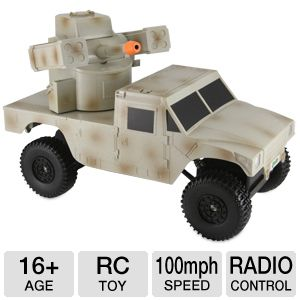 Justice Dealer Camo 16+ Tank RC Toy