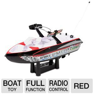 Mach Speed Mastercraft Red Boat Toy