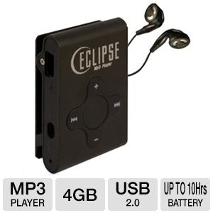 Eclipse ECLIPSE-CL4BK MP3 Player