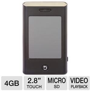 Mach Speed T2800 Trio 4GB MP4 Player