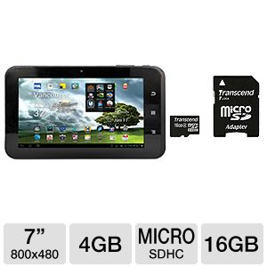 "Mach Speed 7"" Android 4.0 Internet Tablet Bundle"