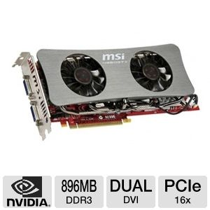 MSI GeForce GTX 260 896MB GDDR3 PCIe Open Box