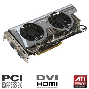 MSI GeForce GTX 470 1280MB GDDR5 SLI Ready