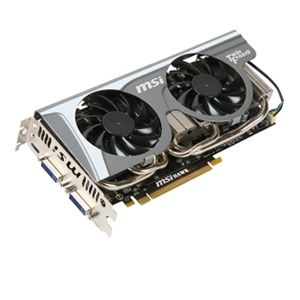 MSI HAWK GeForce GTX 460 (Fermi) 1GB GDDR5 SLI