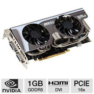 MSI GeForce GTX 560 Twin Frozr II/OC 1GB GDDR5