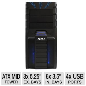 MSI Ravager Mid Tower Case