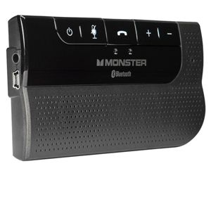 Monster MBLHFPCARBT AirTalk Bluetooth Car Kit