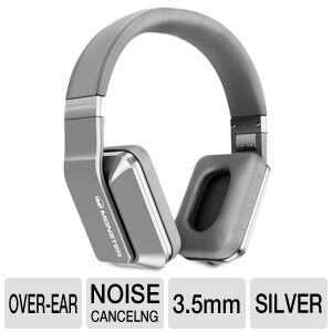 Monster Inspiration Silver Over-ear Headphones