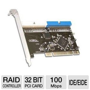 Sabrent RAID PCI Controller