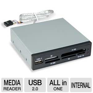 Sabrent CRW-UINB 7-Slot USB 2.0 Internal Memory Ca