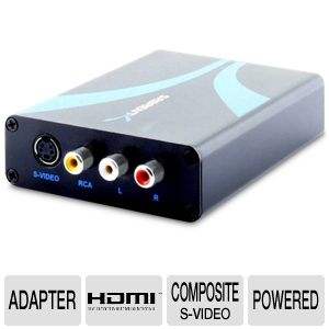 Sabrent HDMI to Composite/S-Video Converter