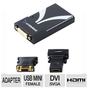 Sabrent USB-2011 USB to 2.0 DVI/HDMI/SVGA Display 