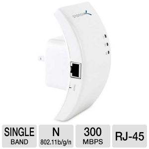 Sabrent High Speed Wireless-N Wifi Repeater