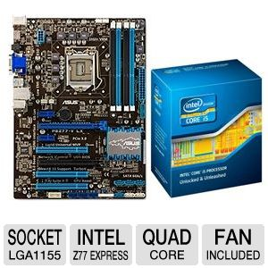 ASUS P8Z77-V LX and Intel Core i5-3570K Bundle