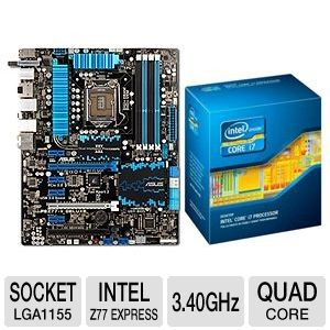ASUS P8Z77-V Deluxe and Intel Core i7-3770 Bundle