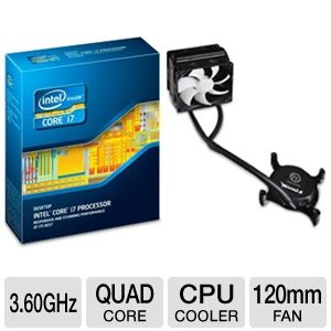 Intel Core i7-3820 3.30GHz Quad-Core Proces Bundle