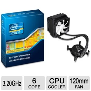 Intel Core i7-3930K 3.20 GHz Six-Core Unloc Bundle